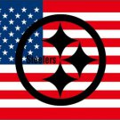 New Design 3x5ft Pittsburgh Steelers Nation Flag 100D Polyester Flag (STC)