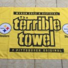 3x5ft Pittsburgh Steelers terrible towel Flag 100D Polyester 90x150cm custom banner