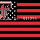 Texas Tech Red Raiders Nation Flag 3ft x 5ft Polyester NCAA Banner Flying