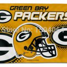 3x5ft USA NFL Green Bay Packers helmet Edition banner metal hole polyester
