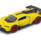 1/32 Alloy Diecast Bugatti Veyron GT Car Model Yellow With Sound&Light Collection Car Toys