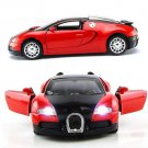 1:36 Scale Model Car Bugatti Veyron Diecast Car Model With Sound&Light Collection Car Toys