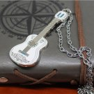Movie Coco Guitar Necklace Skull Dog Dante Keychain toys Metal Necklace Pendant Key Ring #2