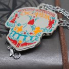 Movie Coco Guitar Necklace Skull Dog Dante Keychain toys Metal Necklace Pendant Key Ring #6