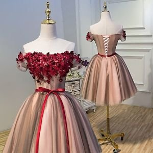 Hej!Fika Tulle Formal Dress Prom Gown Off the Shoulder Strapless Pageant Evening