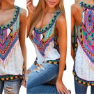 Women Summer Vest Top Sleeveless Blouse Casual Tank Top T-Shirt