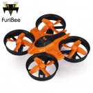 FuriBee F36 2.4GHz 4 Channel 6 Axis Gyro Quadcopter One Key Automatic Return / 3D Flip