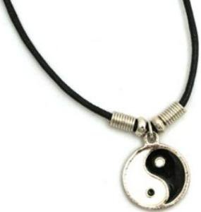 Yin Yang Necklace, Mens/Womens,Buy One and Get One Free