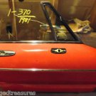 ALFA ROMEO SPIDER  RIGHT Door 71-94 OEM
