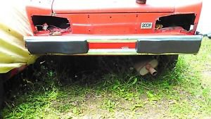 Fiat 124 Spider 1975 - 1985 Rear Bumper Assembly.