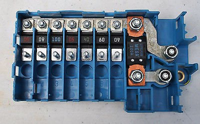TRUNK FUSIBLE LINKS AND POWER DISTRIBUTION JUNCTION BOX BMW E53 X5 6924976