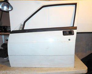 Alfa Romeo Milano 75 left front door SHELL L H DRIVER front, white nice shape