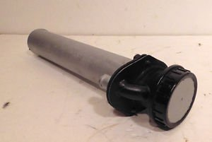 FIAT 124 SPIDER gas Fuel Tank Filler Nozzle Neck pipe tube w Cap out of 1984