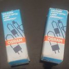 2 Original Osram HLX 64621 PG 22 Photo Optic 100W 12V 100W Lamps (2)