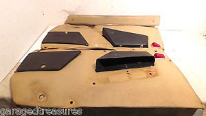Alfa Romeo Spider Right and Left Side Door Panels R & L H for parts