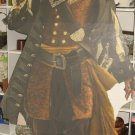Captain Barbosa Pirates of the Caribbean Life Size Stand-Up Cut-Out Used 1x