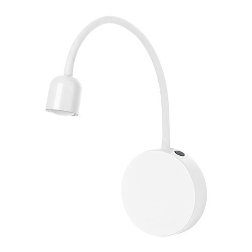 BL�VIK LED wall lamp, battery operated white