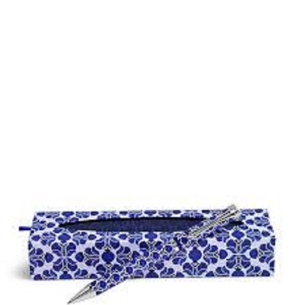 Vera Bradley Cobalt Tile Ball Point Pen