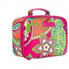 Vera Bradley Lighten Up Lunch Mate Pink Swirls