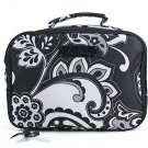 Vera Bradley Lighten Up Lunch Mate Midnight Paisley