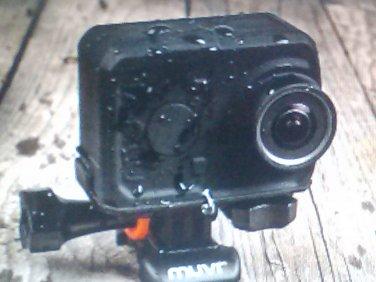 VeHo Muvi K-series mini action camera Complete set, New still in case.