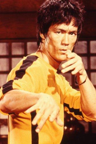 Kung Ku Master Classical Bruce Lee Art Wall Home Deco Silk Poster Brand New