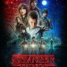 Stranger Things Hi-Res TV Show Movie Joyce Byer Horrible Kid Netflix Silk Poster