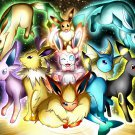 Pokemon Pocket Monster Anime(Eevee) Art Silk Printing Poster 24x36inch