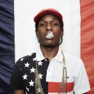 Asap Rocky Music Star Smoking Art Silk Cloth Poster Home Decor 24x36inch