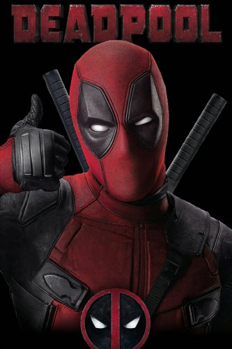 Deadpool Man A Thumbs-up Funny Silk Printing Poster 90x60cm