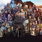 Game Of Thrones Season 6 TV Series Home Deco Art Silk Poster 36x24inch New