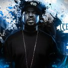Ice Cube Rap Music Rapper Cool Deco Art Printing Silk Poster Birthday Gift New