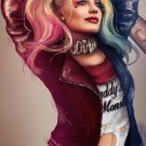 Harley Quinn Batman Arkham City Oil Painting Style Art Silk Poster 24x36inch New