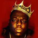 The Notorious B.I.G (Biggie Smalls) - Rapper Music Star Silk Cloth Poster 24x24'