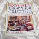 KOVEL'S Guide KNOW Your COLLECTIBLES Glassware Antique Furniture Dolls+ PICTURES Descriptions THICK!
