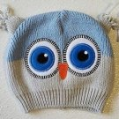 So 'Dorable Owl Beanie Knit Hat Stocking Cap Infant 0-6 Months
