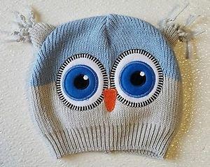 So 'Dorable Owl Beanie Knit Hat Stocking Cap Infant 0-6 Months
