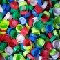 Lot of 100 Used Plastic Bottle Caps, Aquafina, arts, crafts, reptile food dish