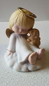 "Precious Moments Figurine ""Friendship makes the day seem brighter"""