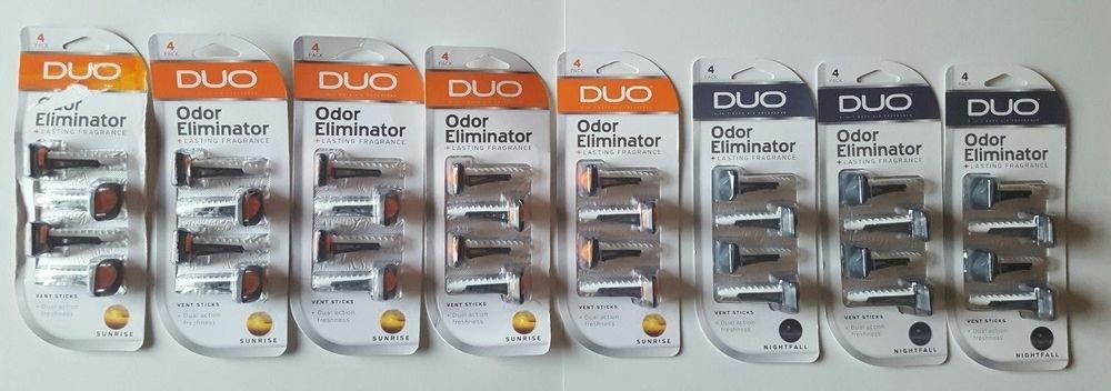 BRAND NEW! Duo Odor Eliminator 8 Pcs Sunrise and Nightfall Fragrance