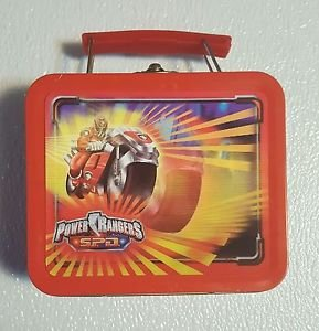 Power Rangers 3-D TIN Dino Thunder- Vintage