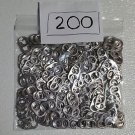 200 Aluminum Pop / Soda / Beer / Can Pull Tabs for crafts