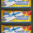 30 Scrub Buddies Wet Sweeper Cloths Refill  NEW  3 packs - 10 in each Pack