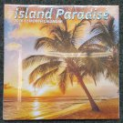 "2018 Island Paradise 12 Month Wall Calendar 12"" x 24"" Brand New - Back To School"