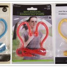 Over The Ear Earbuds Headphones Red, Yellow, Blue  40 inch cord 639277559357