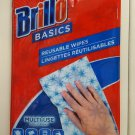 Brillo Basics Reusable Wipes, 8 Ct, Brand New