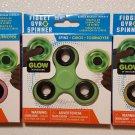 Glow in the Dark Hand Spinner Tri Fidget Gyro Focus Tool Desk Toy - 887030168814