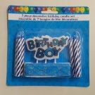 Decorative Happy Birthday Boy Candle - 639277079817