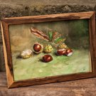 The chestnuts - is extremely beautiful, handmade painting to decorate your home