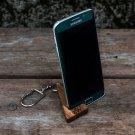 Wooden keychain, wood keychain, wooden charm, wooden pendant, wooden iPad keychain, wooden